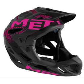 MET Parachute Pyöräilykypärä , vaaleanpunainen/musta